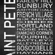 Subway Saint Peter Barbados 1 Poster