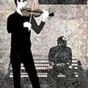 Subway Strings Poster