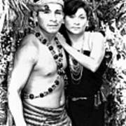 Sucua Shaman And Spouse Poster