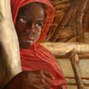 Sudanese Girl Poster
