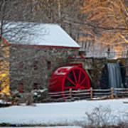 Sudbury Gristmill Poster by Susan Cole Kelly