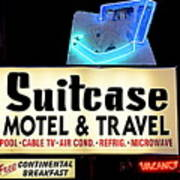 Suitcase Motel Poster