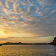 Sullivan Bay Sunrise Poster