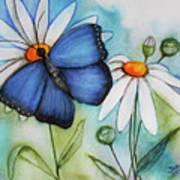 Summer Blue Poster