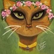 Summer Cat Poster