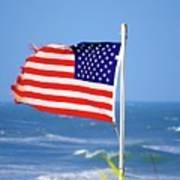 Summer Flag Poster