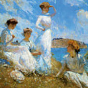 Summer Poster by Frank Weston Benson