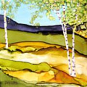 Summer Landscape I Poster