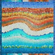 Summer Mosaic Poster