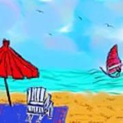 Summer On Nantasket Poster