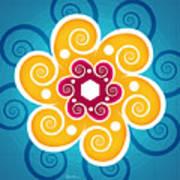 Summer Spiral Poster