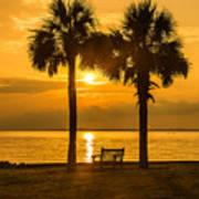 Summer Sunrise - Charleston Sc Poster