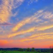 Retzer Nature Center - Summer Sunset #2  Poster