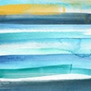 Summer Surf 2- Art By Linda Woods Poster