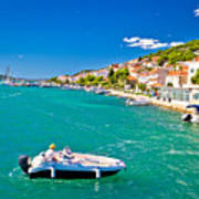 Summer View Of Tisno Coast Poster