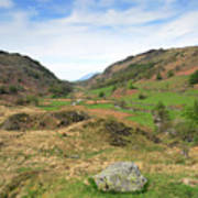 Summer, Watendlath Valley, Lake District National Park, Cumbria Poster