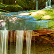 Summer Waterfall Poster