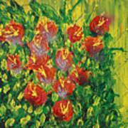 Summer's Bloom Poster