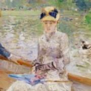 Summers Day Poster by Berthe Morisot