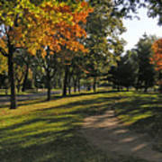 Summit Avenue In The Fall Poster