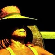Sun Bathing Poster