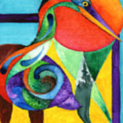 Sun Bird Poster