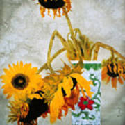Sun Flowers No.1  Poster