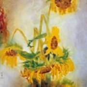 Sun Flowers No.2 Poster