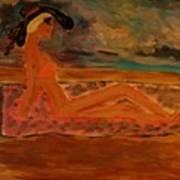 Sun Goddess Poster by Marie Bulger