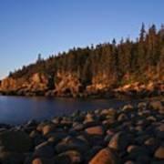 Sun Kissed Acadia Poster