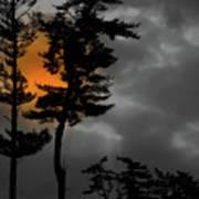 Sun Over Spring Ridge Poster