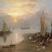 Sun Rising Through Vapour Poster