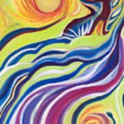 Sun Surfer Poster