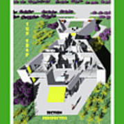 Sun Trap Section Perspective Poster