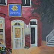 Sundail Books, Chincoteague Island, Va Poster