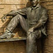 Sundance Kid Statue 5 Poster
