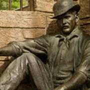 Sundance Kid Statue 6 Poster