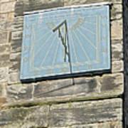 Sundial On St Mary's Church - Tutbury Poster
