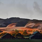 Sundown At The Ranch Poster