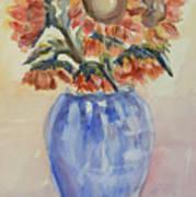 Sunflower Bouquet Poster