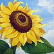 Sunflower Moment Poster