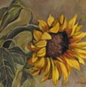 Sunflower Nod Poster