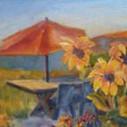 Sunflower Picnic Poster