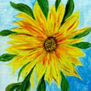 Sunflower Sunshine Of Your Love Poster