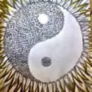 Sunflower Zen Poster