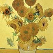 Sunflowers, 1888  Poster