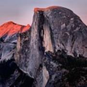 Sunkiss On Half Dome Poster