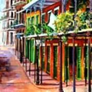 Sunlit New Orleans Poster