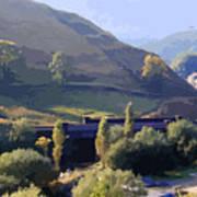Sunlit Valley  Poster