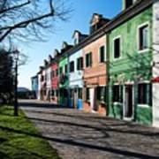 Sunny Colors Of Burano Poster
